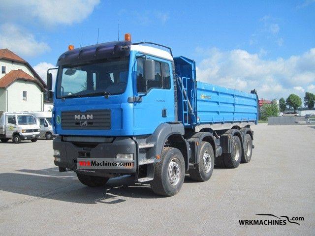 2004 MAN TGA 35.430 Truck over 7.5t Tipper photo