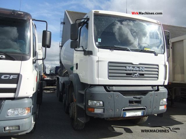 2005 MAN TGA 35.410 Truck over 7.5t Cement mixer photo