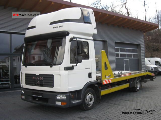 2007 MAN TGL 8.180 Truck over 7.5t Car carrier photo