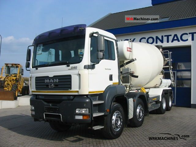 2007 MAN TGA 35.350 Truck over 7.5t Cement mixer photo