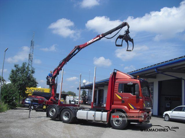2005 MAN TGA 26.430 Truck over 7.5t Timber carrier photo