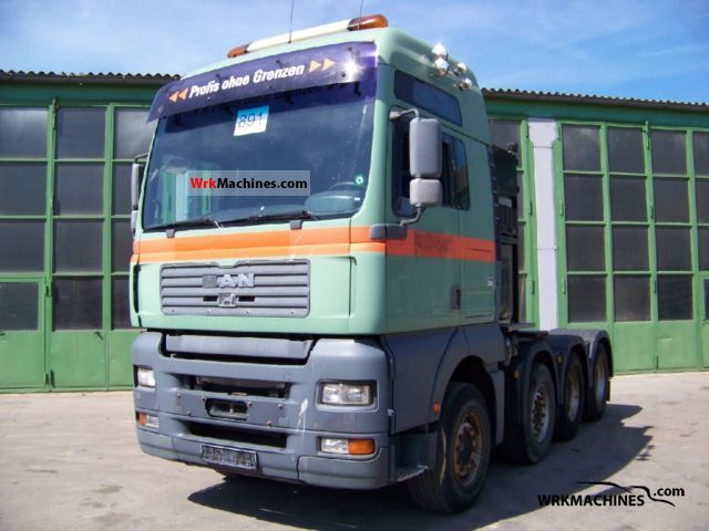 2003 MAN TGA 41.530 Semi-trailer truck Heavy load photo