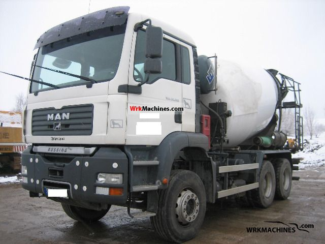 2005 MAN LIONS COMFORT 313 Truck over 7.5t Cement mixer photo