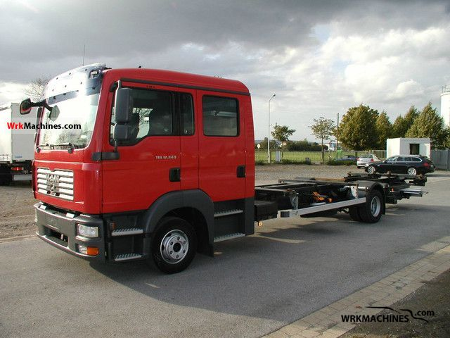 2008 MAN TGL 12.240 Truck over 7.5t Chassis photo