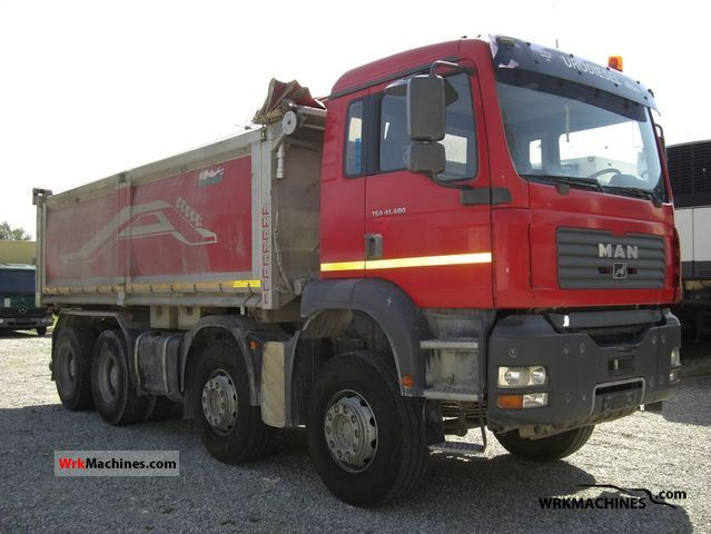 2004 MAN LION´S COACH 414 Truck over 7.5t Three-sided Tipper photo