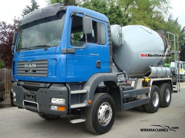 2007 MAN TGA 26.320 Truck over 7.5t Cement mixer photo