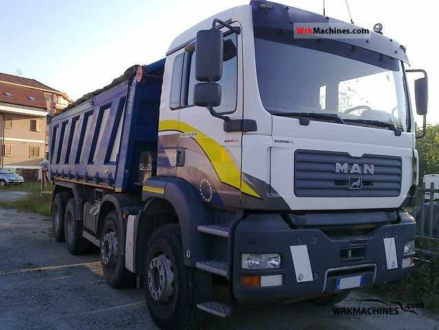 2003 MAN TGA 41.460 Truck over 7.5t Dumper truck photo
