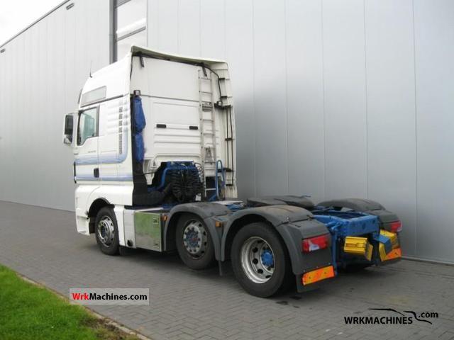 2008 MAN TGA 26.440 Semi-trailer truck Heavy load photo