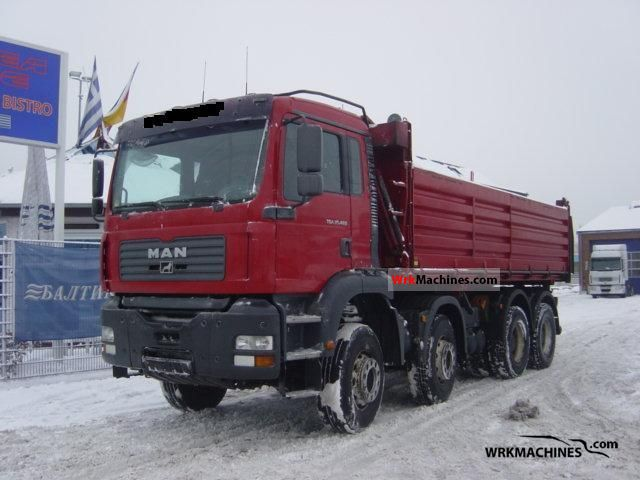 2004 MAN F 2000 35.463 Truck over 7.5t Three-sided Tipper photo