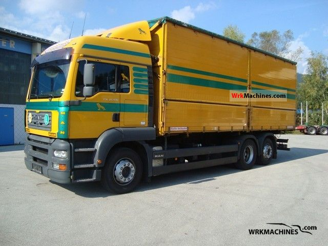 2005 MAN TGA 26.430 Truck over 7.5t Tipper photo