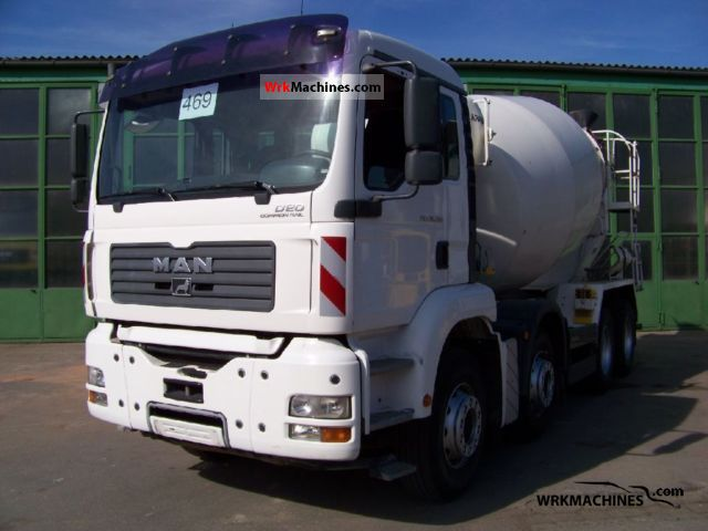 2005 MAN TGA 35.390 Truck over 7.5t Cement mixer photo