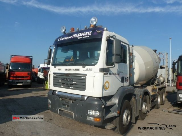 2005 MAN TGA 32.390 Truck over 7.5t Cement mixer photo