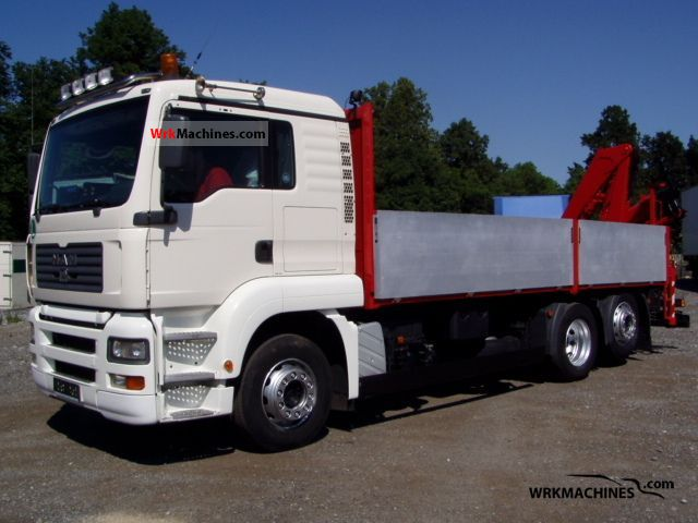 2006 MAN TGA 26.430 Truck over 7.5t Stake body photo