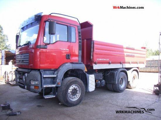 2004 MAN TGA 26.430 Truck over 7.5t Tipper photo