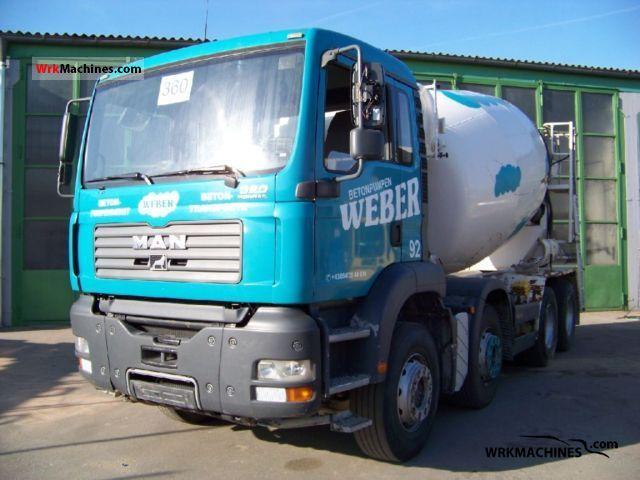 2006 MAN TGA 35.350 Truck over 7.5t Cement mixer photo