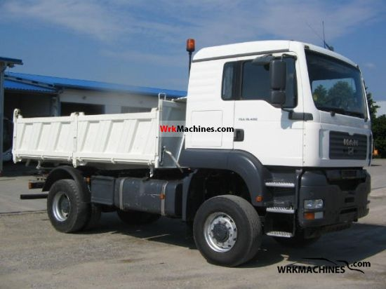 2005 MAN TGA 18.480 Truck over 7.5t Three-sided Tipper photo