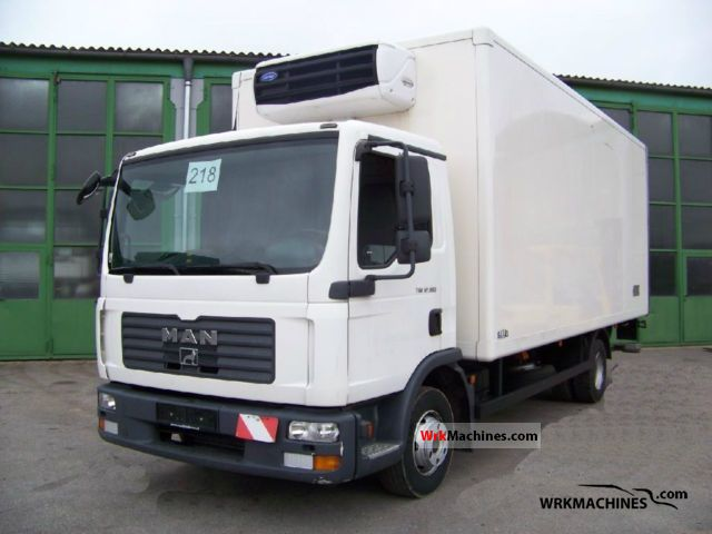 2008 MAN TGL 12.180 Truck over 7.5t Refrigerator body photo