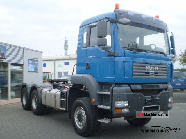 2007 MAN TGA 26.400 Semi-trailer truck Standard tractor/trailer unit photo