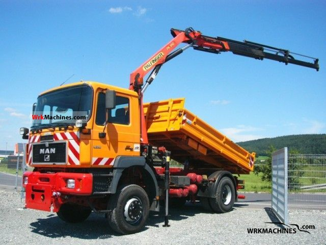 2000 MAN F 2000 19.314 Truck over 7.5t Tipper photo