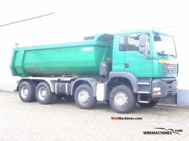 2006 MAN TGA 35.350 Truck over 7.5t Mining truck photo