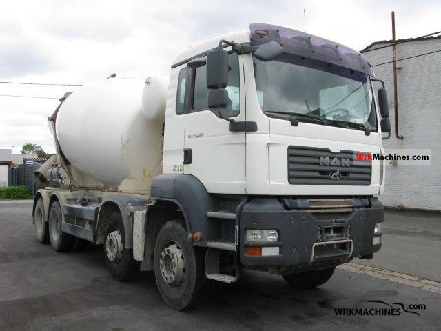 2007 MAN TGA 35.360 Truck over 7.5t Cement mixer photo