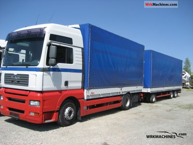 2007 MAN TGA 18.440 Truck over 7.5t Stake body photo