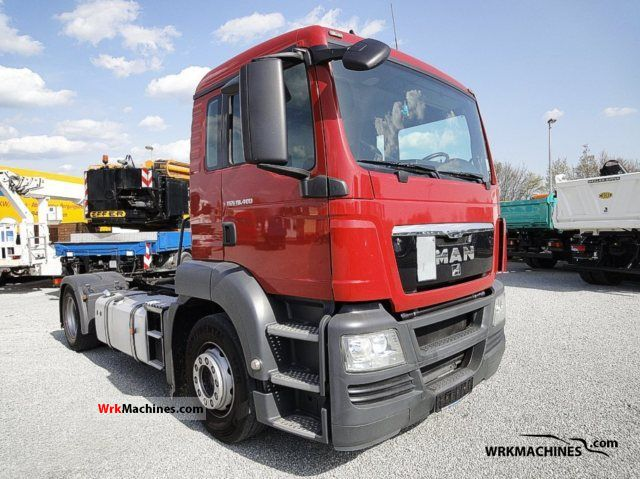2009 MAN TGA 18.400 Truck over 7.5t Tank truck photo