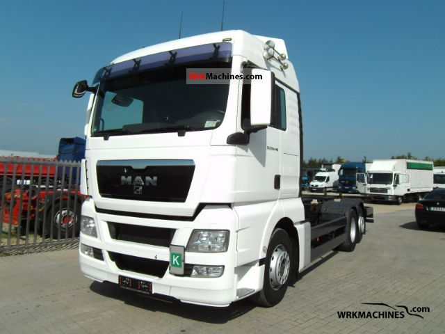 2008 MAN TGA 26.440 Truck over 7.5t Swap chassis photo