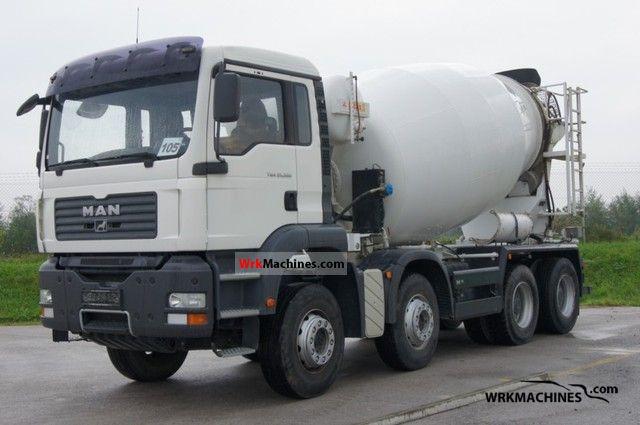2007 MAN TGA 35.390 Truck over 7.5t Cement mixer photo