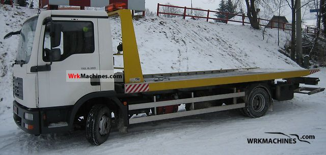 2008 MAN TGL 8.180 Truck over 7.5t Breakdown truck photo