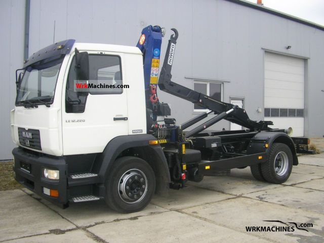 2005 MAN L 2000 220 Truck over 7.5t Roll-off tipper photo