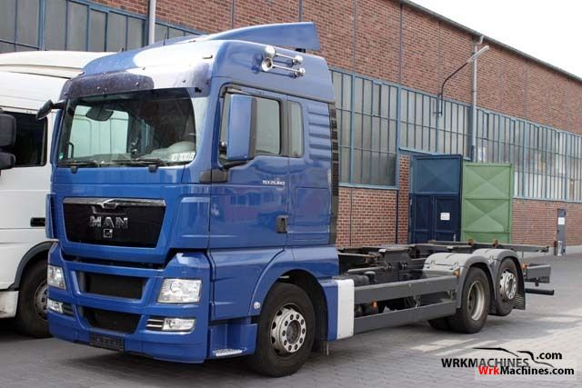2008 MAN TGA 26.440 Truck over 7.5t Chassis photo