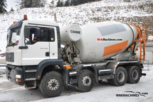 2005 MAN TGA 41.480 Truck over 7.5t Cement mixer photo