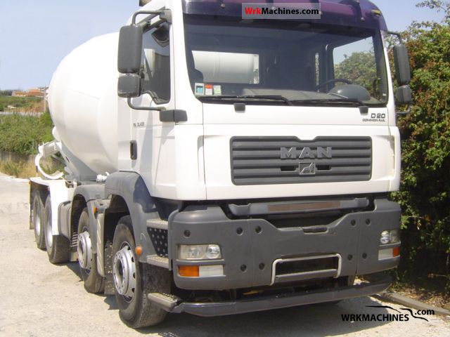 2006 MAN TGA 35.430 Truck over 7.5t Cement mixer photo