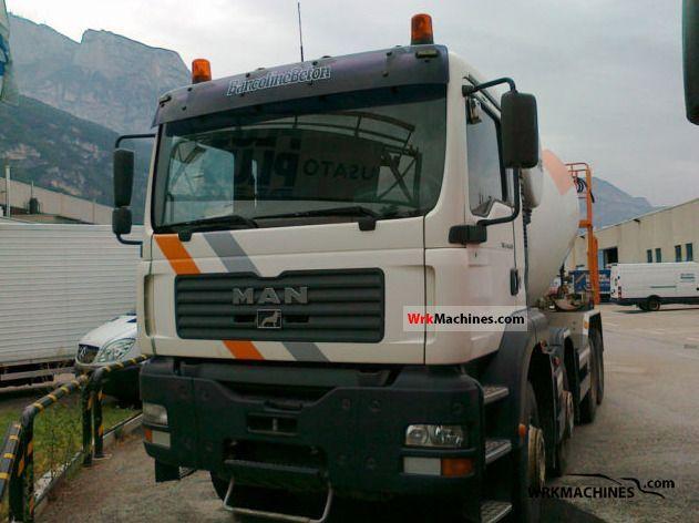 2004 MAN TGA 41.460 Truck over 7.5t Cement mixer photo