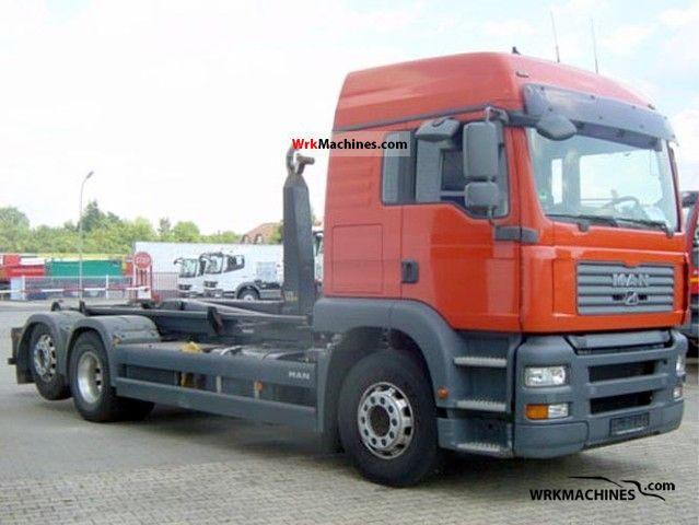 2007 MAN TGA 26.440 Truck over 7.5t Roll-off tipper photo