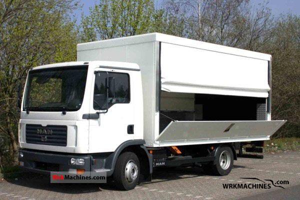 2011 MAN TGL 8.180 Van or truck up to 7.5t Beverages van photo