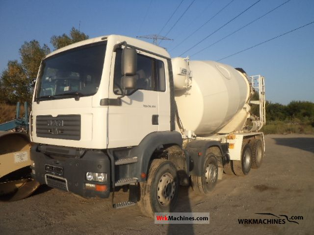 2008 MAN TGA 35.350 Truck over 7.5t Cement mixer photo
