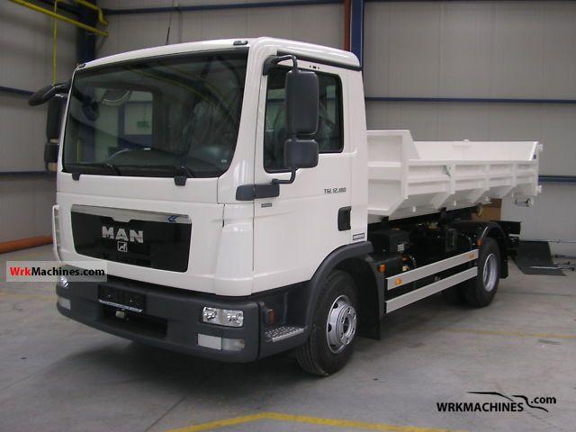 2011 MAN TGL 12.180 Truck over 7.5t Roll-off tipper photo