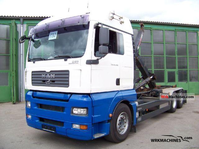 2007 MAN TGA 26.480 Truck over 7.5t Roll-off tipper photo