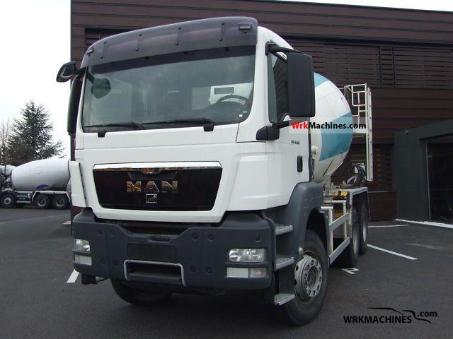2008 MAN SÜ SÜ 263 Truck over 7.5t Cement mixer photo