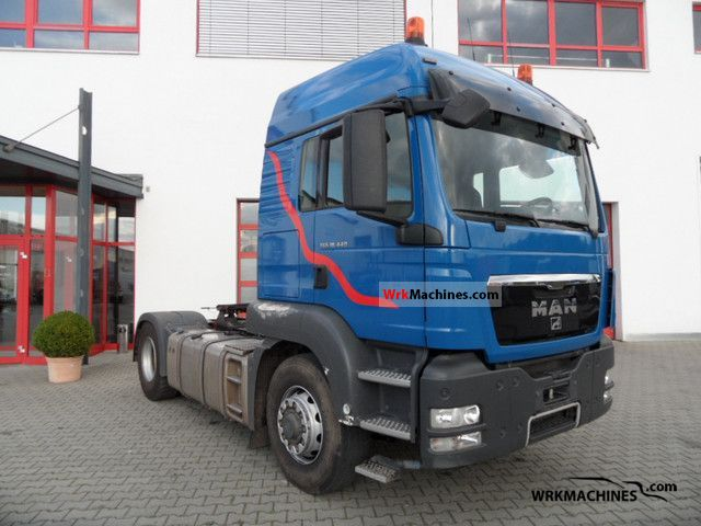 2010 MAN TGA 18.440 Semi-trailer truck Standard tractor/trailer unit photo