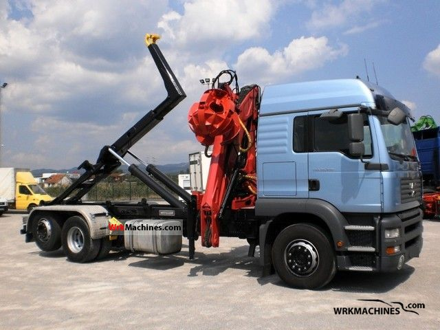 2005 MAN TGA 26.430 Truck over 7.5t Roll-off tipper photo