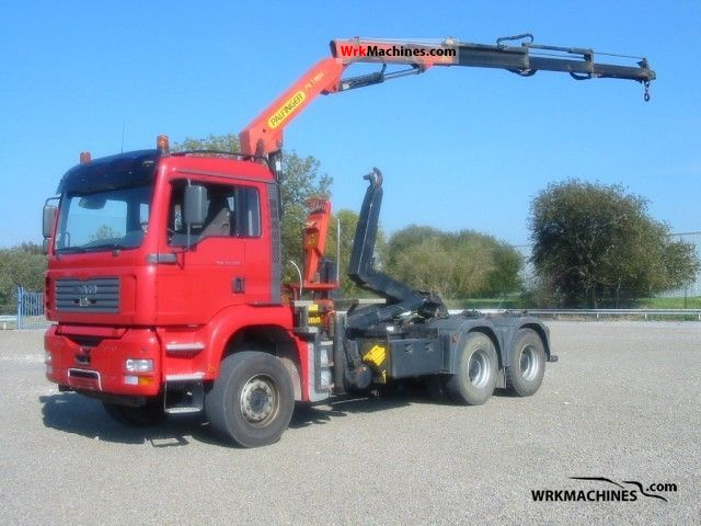 2004 MAN TGA 33.360 Truck over 7.5t Roll-off tipper photo