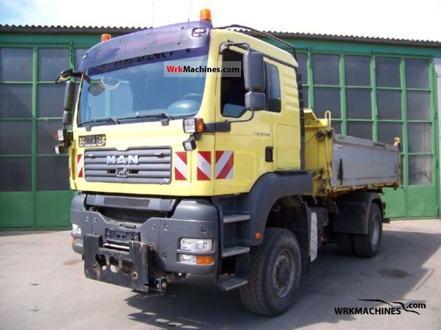 2007 MAN TGA 18.440 Truck over 7.5t Three-sided Tipper photo