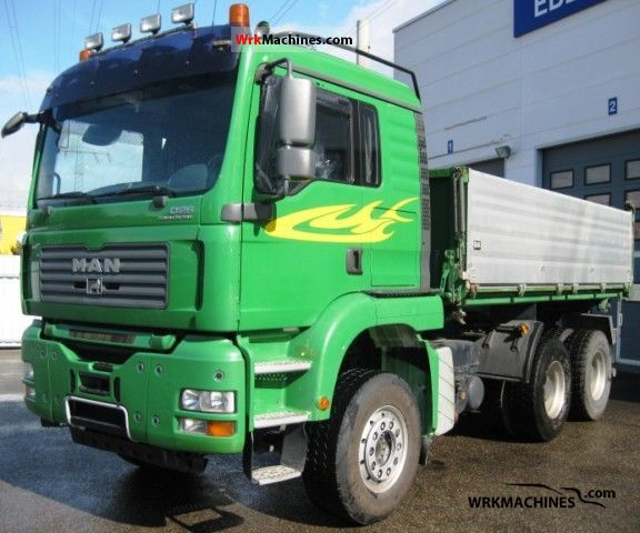 2007 MAN TGA 26.480 Truck over 7.5t Three-sided Tipper photo