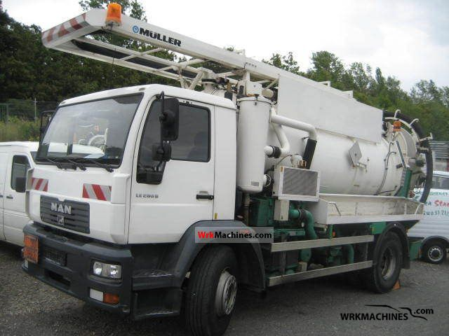2001 MAN M 2000 L 280 Truck over 7.5t Vacuum and pressure vehicle photo