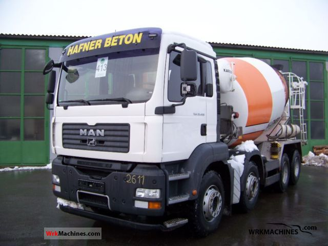 2008 MAN TGA 35.400 Truck over 7.5t Cement mixer photo