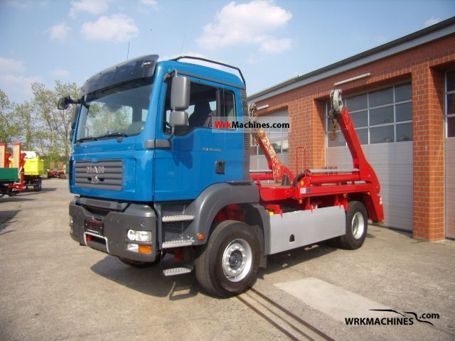 2007 MAN TGA 18.440 Truck over 7.5t Dumper truck photo