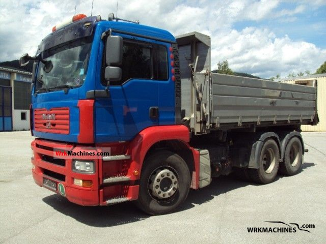 2007 MAN TGA 26.440 Truck over 7.5t Tipper photo
